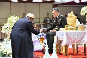 สมเด็จพระเจ้าอยู่หัวฯ พระราชทานรางวัลคณะกรรมการอิสลามประจำจังหวัดที่มีผลงานดีแก่คณะกรรมการอิสลามประจำกรุงเทพมหานคร