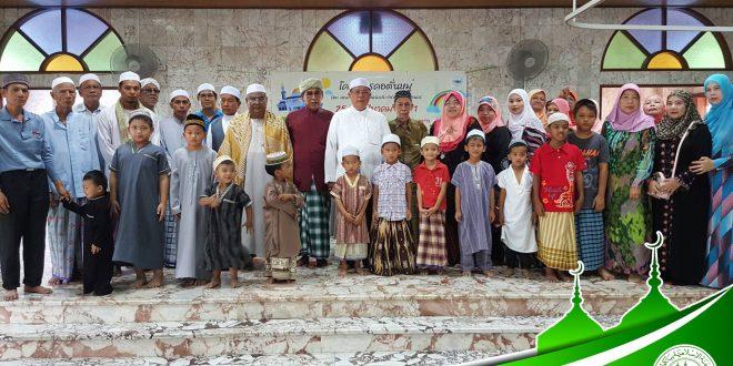 """พิธีเปิด""""คอตั่นหมู่""""ของ กอ.กทม. ณ มัสยิดญัมอียะตุ้ลมุสลิมีน (สุเหร่าแดง)"""