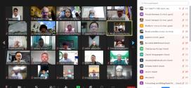 คณะผู้ประสานงานมัสยิดกลุ่มที่ 5 จัดประชุม online ผ่าน ระบบ Zoom